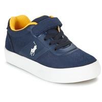 Sko Børn Lave sneakers Polo Ralph Lauren HANFORD HM EZ Marineblå