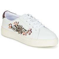 Sko Dame Lave sneakers Dune London EMERALDA Hvid