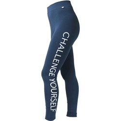 textil Dame Leggings 4F Womens Leggins H4L17-LEG001NAVY Blue