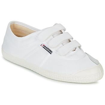 Sko Lave sneakers Kawasaki BASIC VELCRO Hvid