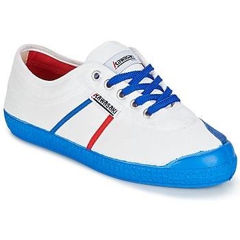 Sko Herre Lave sneakers Kawasaki BASIC FANTASY Hvid / Blå