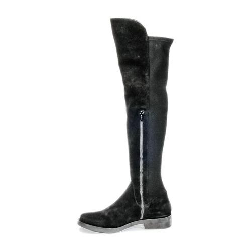 NUPAN  Buffalo  lårhøje støvler  dame  sort OB7JH
