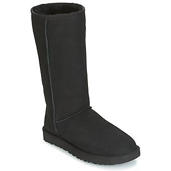 Sko Dame Chikke støvler UGG CLASSIC TALL II Sort
