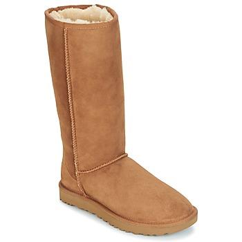 Sko Dame Chikke støvler UGG CLASSIC TALL II Brun