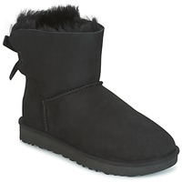 Sko Dame Støvler UGG MINI BAILEY BOW II Sort