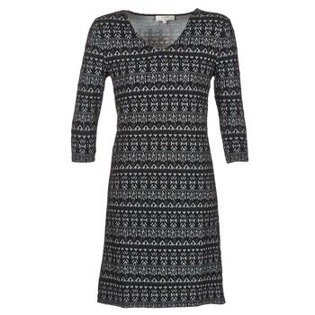 textil Dame Korte kjoler Cream MIRA DRESS Sort