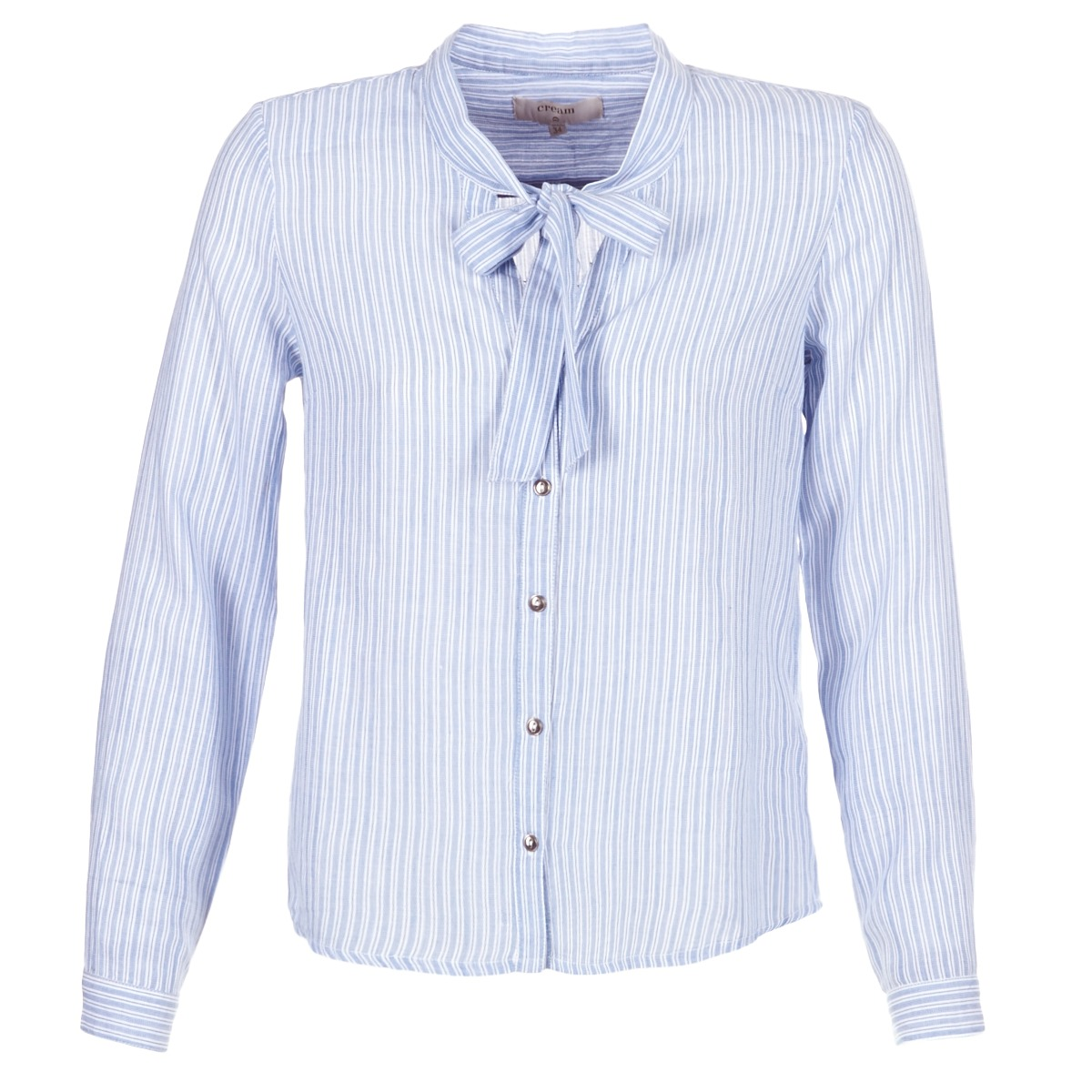 Skjorter / Skjortebluser Cream  CAMA STRIPED SHIRT