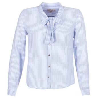 textil Dame Skjorter / Skjortebluser Cream CAMA STRIPED SHIRT Blå