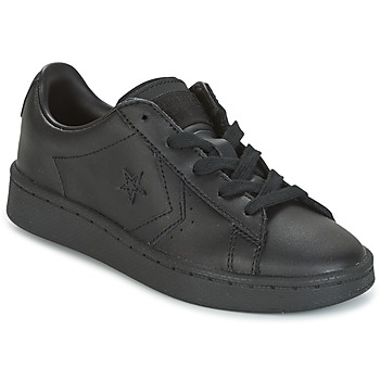 Sko Dreng Lave sneakers Converse PL 76 OX YOUTH Sort