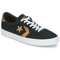 Sko Dame Lave sneakers Converse BREAKPOINT OX Sort / Guld