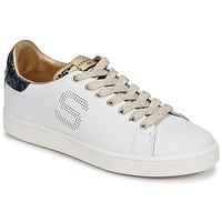 Sko Dame Lave sneakers Serafini J.CONNORS Hvid / Blå / Gylden