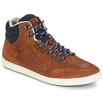 Sko Herre Høje sneakers Kickers CRAFFITI KAMEL