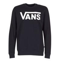textil Herre Sweatshirts Vans VANS CLASSIC CREW Sort