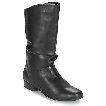 Sko Dame Chikke støvler Spot on DIURO Sort