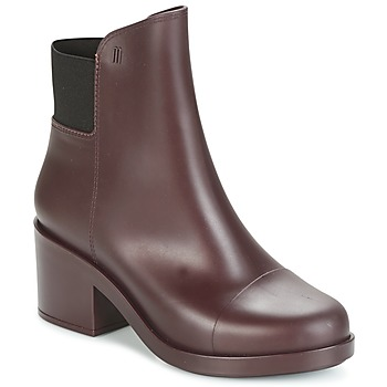 Sko Dame Høje støvletter Melissa ELASTIC BOOTS Bordeaux