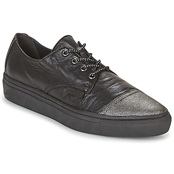 Sko Dame Lave sneakers Pataugas YAK Sort / Sølv