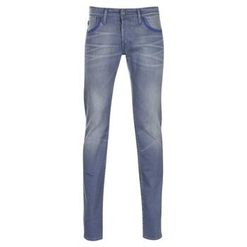 textil Herre Smalle jeans Le Temps des Cerises 711 Grå