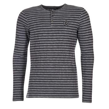 textil Herre Langærmede T-shirts Le Temps des Cerises ROGER Grå