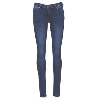 textil Dame Jeans - skinny Le Temps des Cerises ULTRAPOWER Blå / Medium