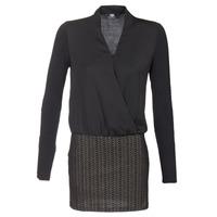 textil Dame Korte kjoler Le Temps des Cerises MALAYA Sort