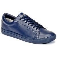 Sko Herre Lave sneakers Hackett MYF STRATTON Blå