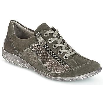 Sko Dame Lave sneakers Remonte Dorndorf POLINE Grå / Perlemor