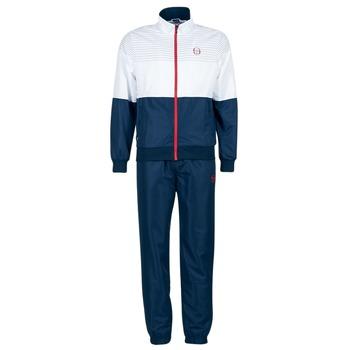 textil Herre Træningsdragter Sergio Tacchini LACKSON TRACKSUIT Marineblå / Hvid