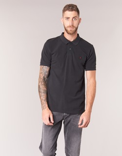 textil Herre Polo-t-shirts m. korte ærmer Replay POLOMI Sort