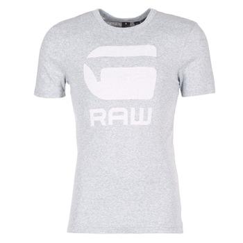 textil Herre T-shirts m. korte ærmer G-Star Raw DRILLON Grå