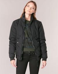 textil Dame Jakker G-Star Raw STRETT CHEVRON JKT Sort