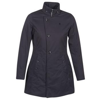 textil Dame Parkaer G-Star Raw MINOR CLASSIC PADDED SLIM COAT Sort