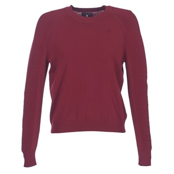 textil Dame Pullovere G-Star Raw SUZAKI KNIT Bordeaux
