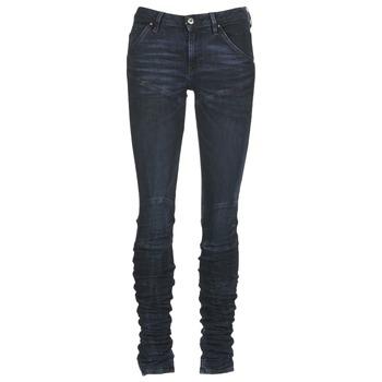 textil Dame Jeans - skinny G-Star Raw 5620 STAQ 3D MID SKINNY WMN Marineblå