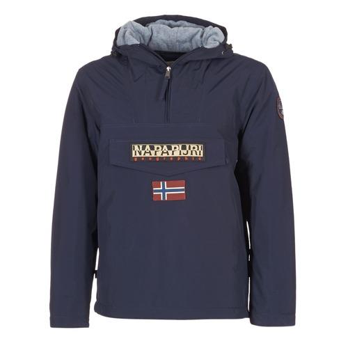 textil Herre Parkaer Napapijri RAINFOREST Marineblå