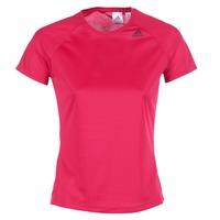 textil Dame T-shirts m. korte ærmer adidas Performance D2M TEE LOSE Pink