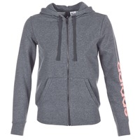 textil Dame Sweatshirts adidas Performance ESS LIN FZ HD Grå
