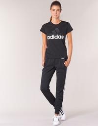 textil Dame Træningsbukser adidas Originals ESS 3S PANT CH Sort