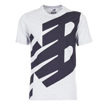 textil Herre T-shirts m. korte ærmer New Balance NB ESSENTIEL T Grå