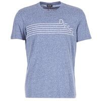 textil Herre T-shirts m. korte ærmer Diesel JOE QF Marineblå