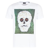 textil Herre T-shirts m. korte ærmer Diesel JOE QM Hvid
