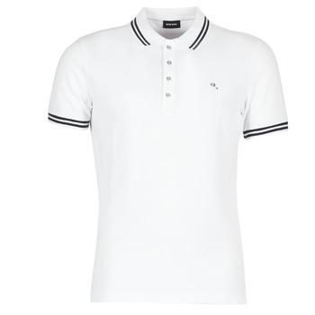 textil Herre Polo-t-shirts m. korte ærmer Diesel RANDY Hvid