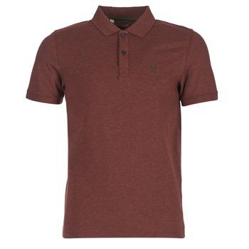 textil Herre Polo-t-shirts m. korte ærmer Selected ARO Bordeaux