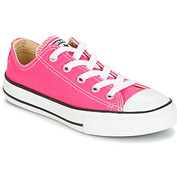 Sko Pige Lave sneakers Converse CHUCK TAYLOR ALL STAR SEASONAL OX PINK POW Pink