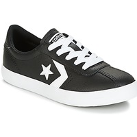 Sko Børn Lave sneakers Converse BREAKPOINT FOUNDATIONAL LEATHER BP OX BLACK/WHITE/BLACK Sort / Hvid