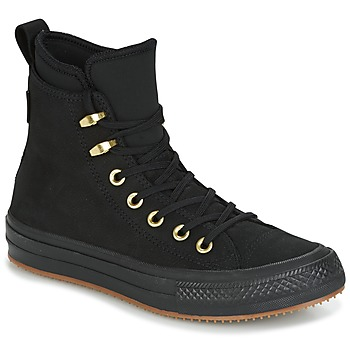 Sko Dame Høje sneakers Converse CHUCK TAYLOR WP BOOT Sort / Guld