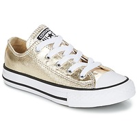 Sko Pige Lave sneakers Converse CHUCK TAYLOR ALL STAR Guld / Hvid / Sort