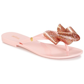 Sko Dame Flip flops Melissa HARMONIC TARTAN AD Pink