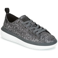 Sko Dame Lave sneakers Palladium CRUSHION LACE CAMO Sort / Grå