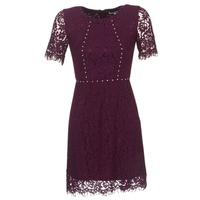 textil Dame Korte kjoler Morgan ROUJEL BORDEAUX