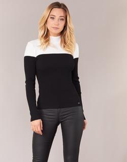 textil Dame Pullovere Morgan MICO Sort / Hvid